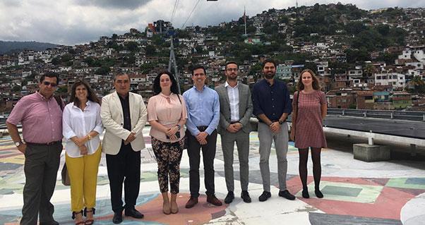 Delegación empresarial de la República Checa visitó el Valle del Cauca, Invest Pacific