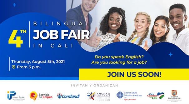 Caleños que dominen el inglés podrán conectarse con más de 2.500 oportunidades laborales