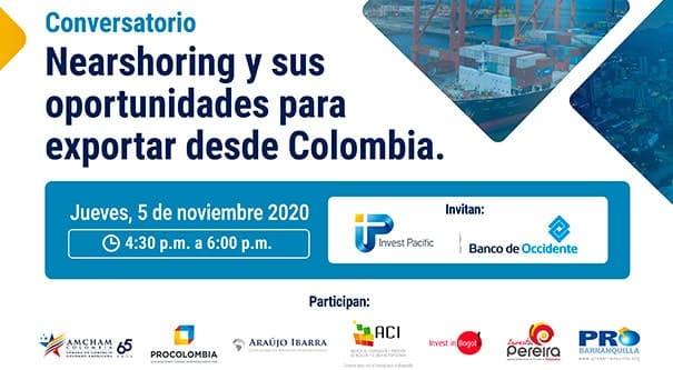 Oportunidades de exportación, Invest Pacific