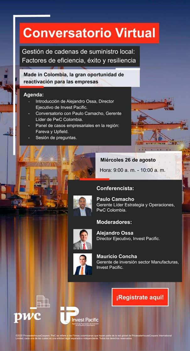 Conozca los retos y las oportunidades en la gestión de las cadenas locales de suministro, Invest Pacific