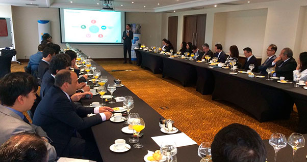 Convergence between Valle del Cauca and the Korean Business Community, Invest Pacific