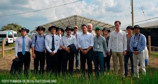 Investigación del CIAT sorprende a delegación japonesa liderada por ministro, Invest Pacific