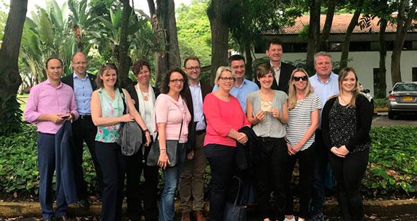 Delegación de empresarios de Austria visitó la región, Invest Pacific