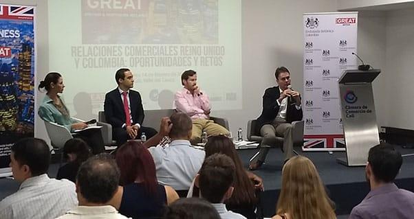 Expectativas de inversión británica para el Valle del Cauca, Invest Pacific