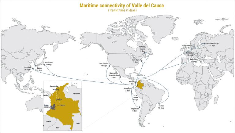 Logistics in Valle del Cauca, Invest Pacific