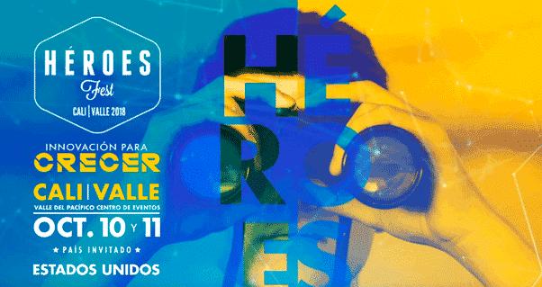 Abiertas las postulaciones para participar en Héroes Fest 2018, Invest Pacific