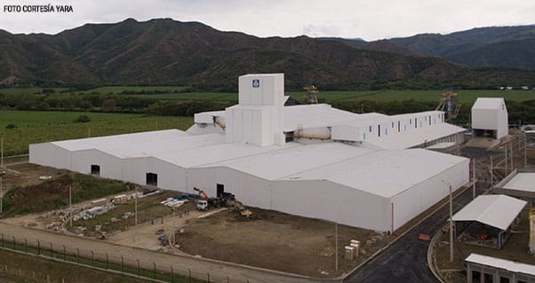 Yara Colombia launches its fertilizer facility, the biggest and most modern in Latin America, Invest Pacific