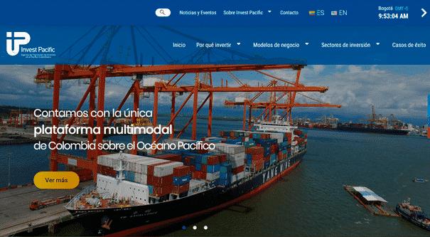 Invest Pacific renovó su sitio web, Invest Pacific