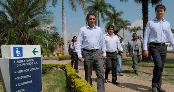 Zona Franca del Pacífico y Palmira buscan soluciones conjuntas., Invest Pacific