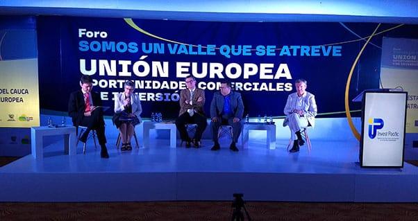 Diplomáticos europeos, conectados con la propuesta de valor del Valle del Cauca, Invest Pacific